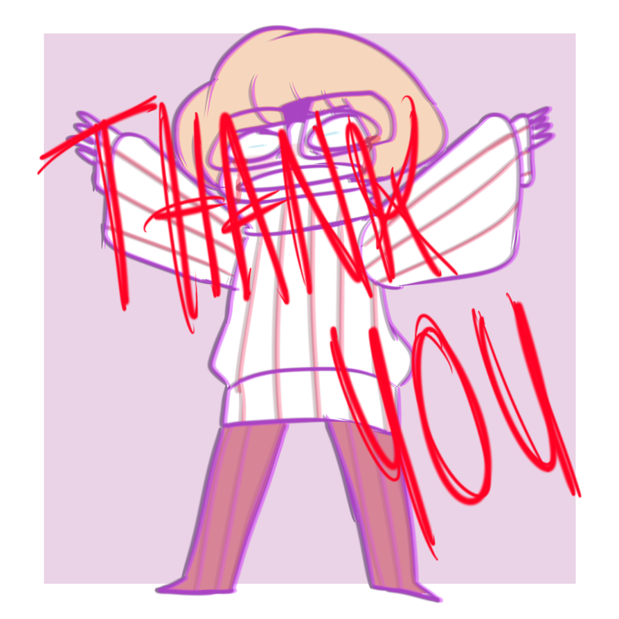 THANK YOU FOR 400 WATCHERS by cuttlewltch