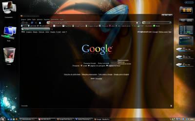 Google Dark Glass