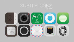 Subtle Icons by aj360p