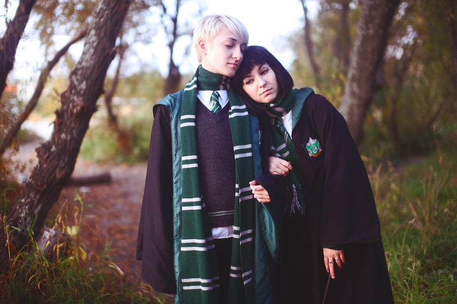 Pansy and Draco by Ori...