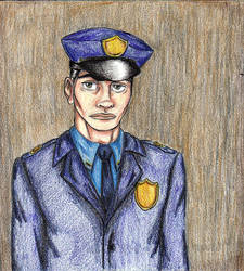 J'onn in uniform by moniquej
