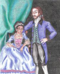 Sleepy Hollow: Abbie and Ichabod, Georgian Style by moniquej