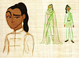 Redesign of Prince Pu from Earthbound by kbakonyi