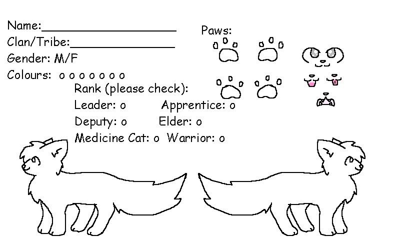 FREE Warrior Cat Base by KookieKittie2 on DeviantArt