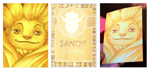 Sandy Card - Rise of the Guardians by ETrost