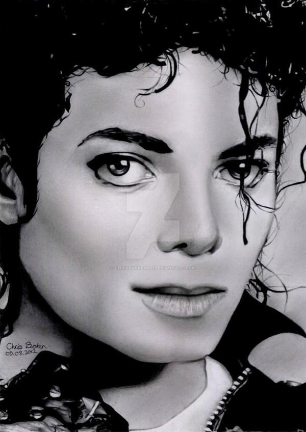 Michael Jackson Bad era by Chrisbakerart on DeviantArt  Michael Jackson...