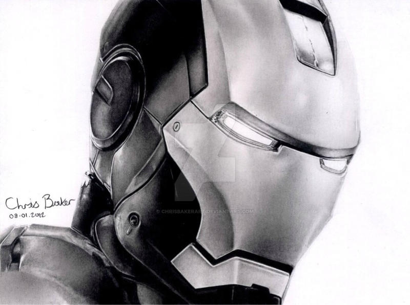Iron Man by Chrisbakerart