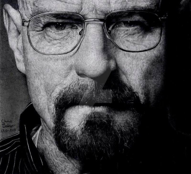 Walter White - Breaking Bad by Chrisbakerart