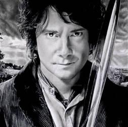 Bilbo Baggins by Chrisbakerart