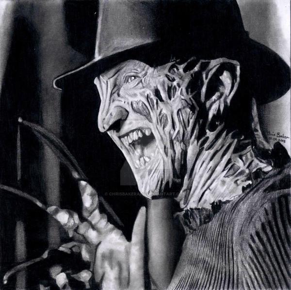 Freddy Krueger by Chrisbakerart