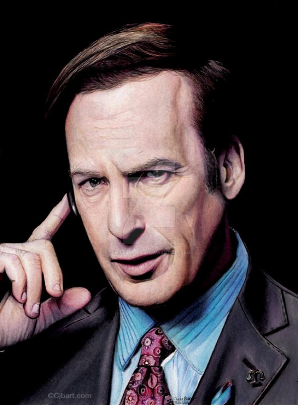 Saul Goodman - Breaking Bad by Chrisbakerart