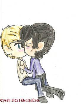johnlock kiss