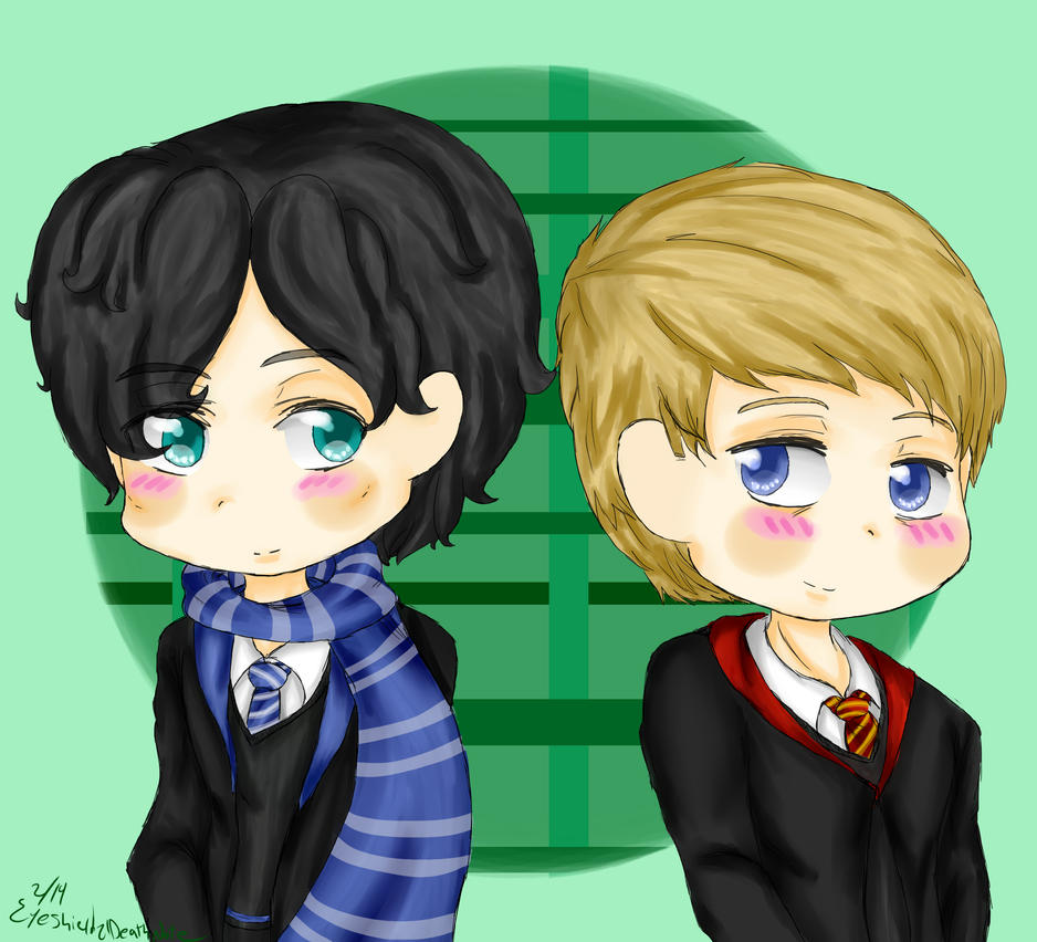 Potterlock by ThePastelHobbit