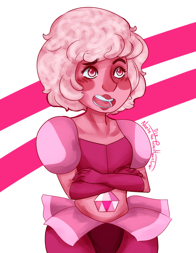 Pink Diamond in D2 for Jon (the expression meme) Reblog here on Tumblr