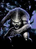 Werewolf by JLFlores