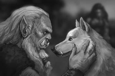 Lorkus and Lo'tuk by Eepox