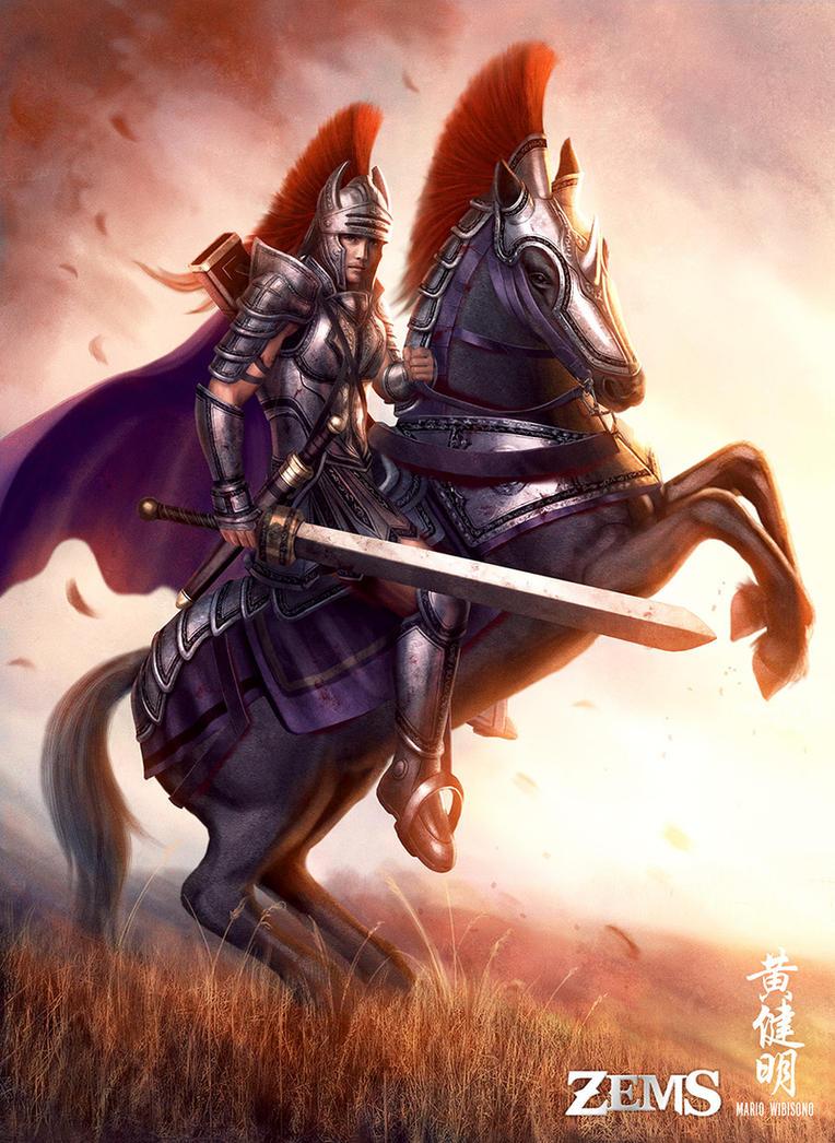 Irulian Knight by MarioWibisono
