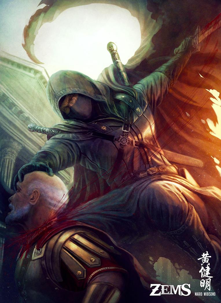 Mercenary Assassin by MarioWibisono