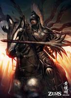 Mercenary Knight by MarioWibisono