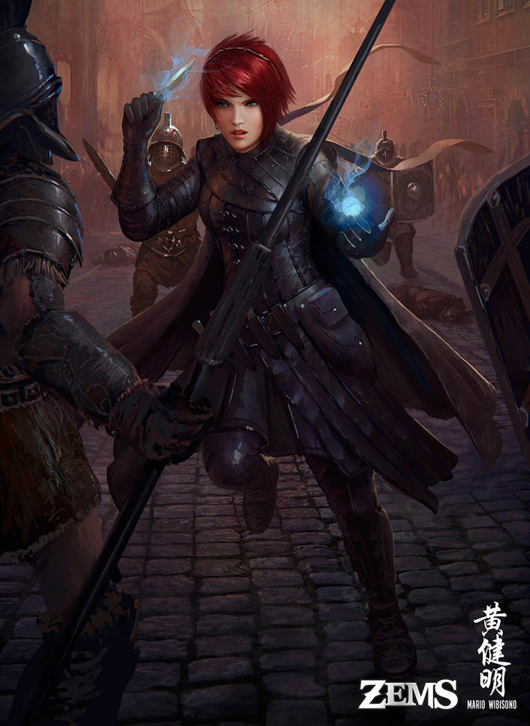Zems - Alvyna Cerise, Stealer of Secrets by MarioWibisono