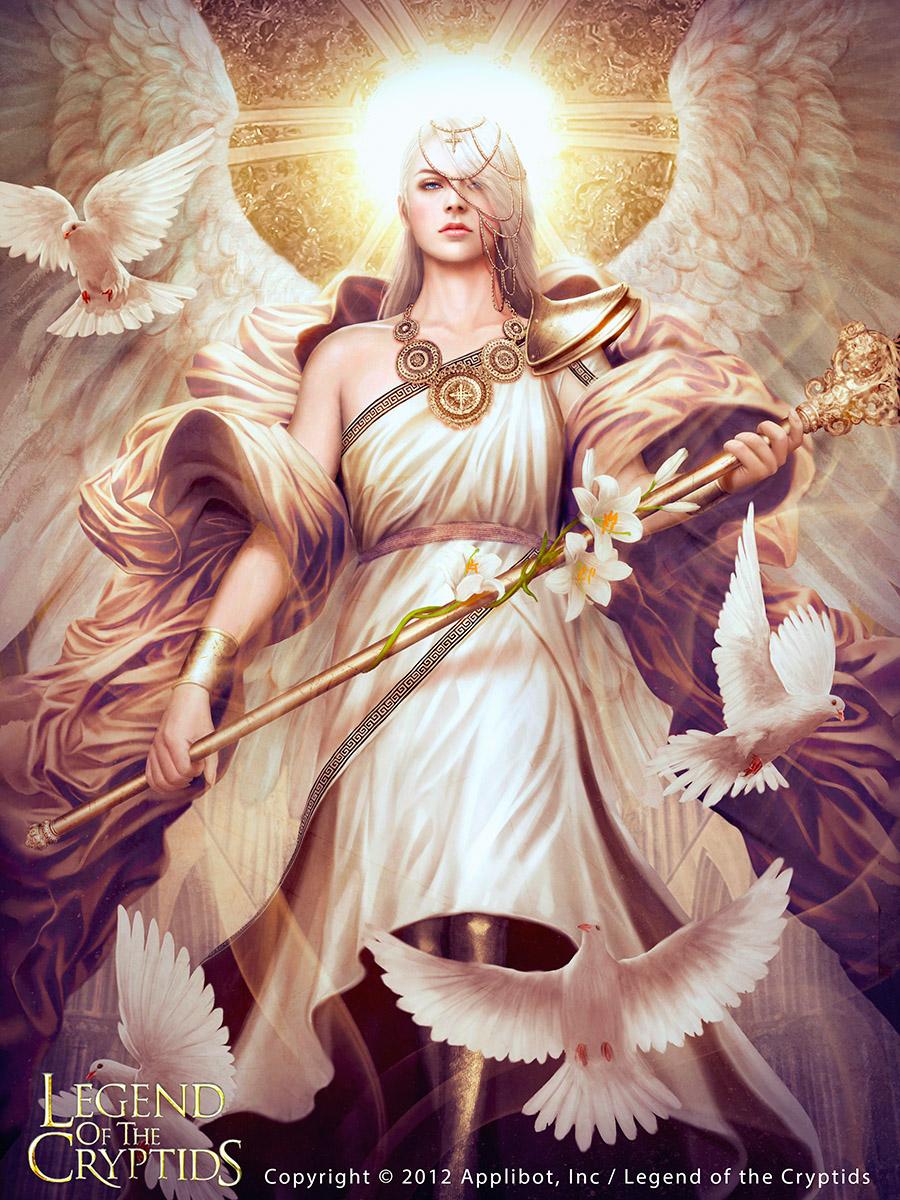 Archangel Gabriel [REG] by MarioWibisono on DeviantArt