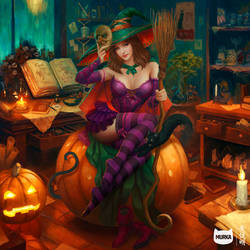 The Pumpkin 'Witch'