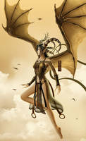 Golden Wings of Lamia