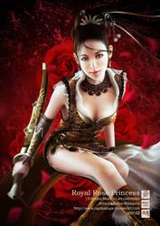 Royal Rose Princess by MarioWibisono