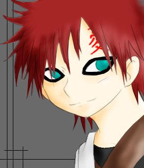 gaara smile by gaarakun on DeviantArt