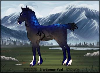 TheBlackAlicorn Nordanner Foal Design