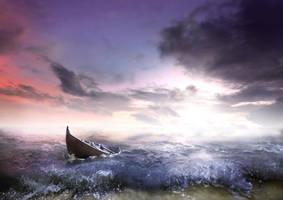 Restless Sea by Neqeyenne