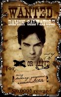 WANTED: Damon Salvatore by Alia-x