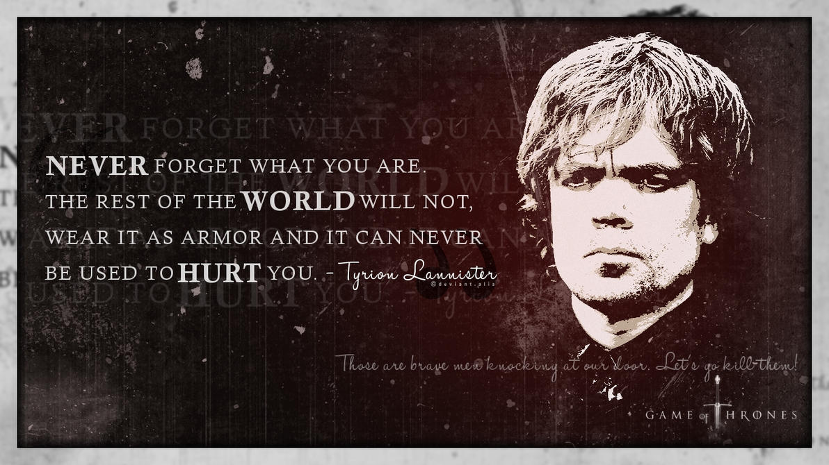 Tyrion Lannister by Alia-x on DeviantArt