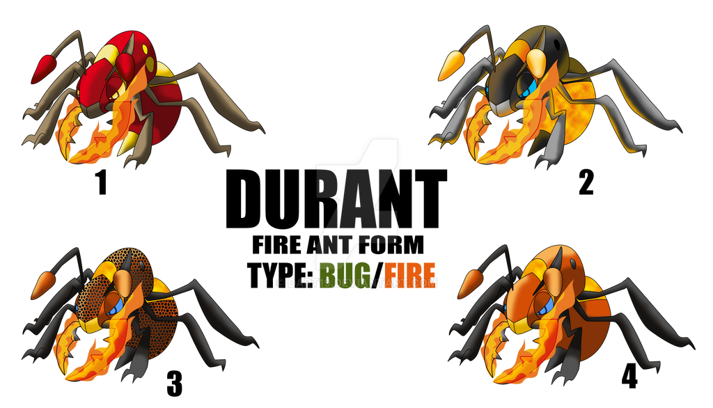 DURANT FIRE ANT FORM by DArt19 on DeviantArt