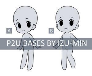 P2U Chibi Bases