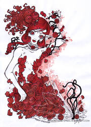 A Dozen Roses by KeyshaKitty