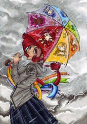 Umbrella by KeyshaKitty