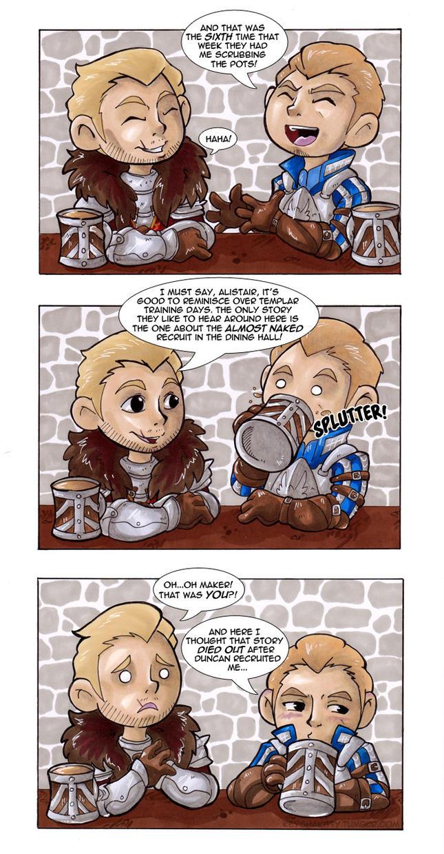 DA:I - Ex-Templars (Comic) by KeyshaKitty