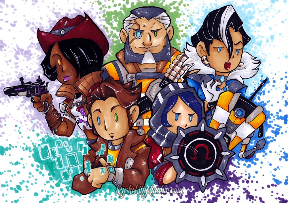 BL Pre Sequel - Vault Hunters by KeyshaKitty