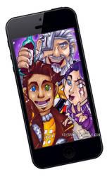 BL Pre Sequel - Group Selfie