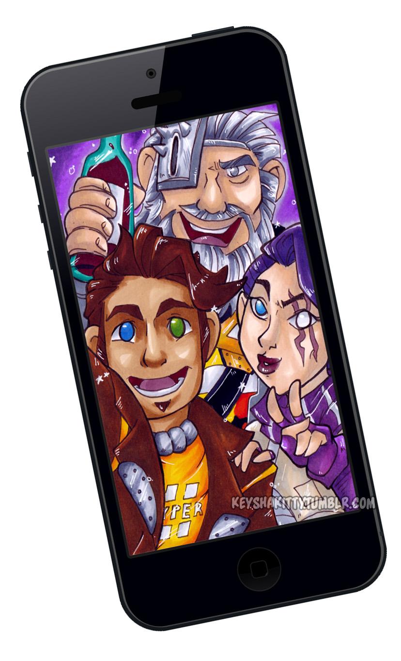BL Pre Sequel - Group Selfie by KeyshaKitty