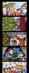 Telltale Games Christmas by KeyshaKitty
