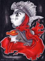 Wastelander in Red