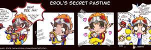 Erol's Secret Pastime - comic