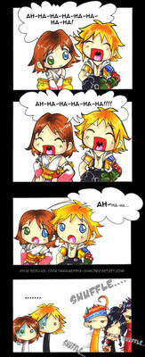 The Laughing Game - FFX comic