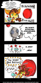 Big Red Button - R+C Comic