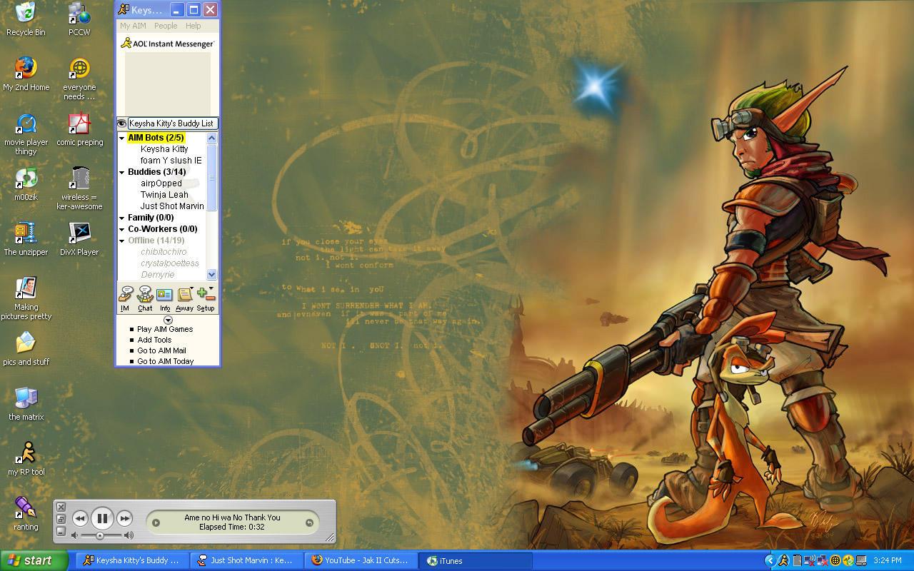 Jak And Daxter Wallpaper 12835797: Jak 3 Wallpaper By KeyshaKitty On DeviantArt