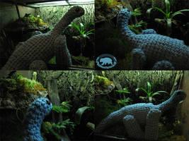 Friendly Apatosaurus