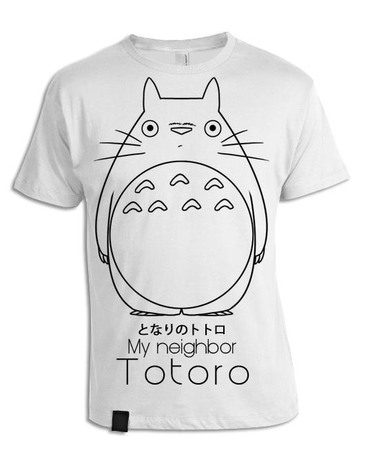 Totoro T-shirt by DarthNigror