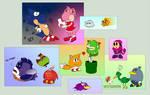 Sonic-Mario - crossover